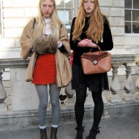 London Fashion Week Day 2...Somerset House