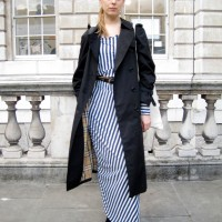 The Black Trench and Stripes...Somerset House, London