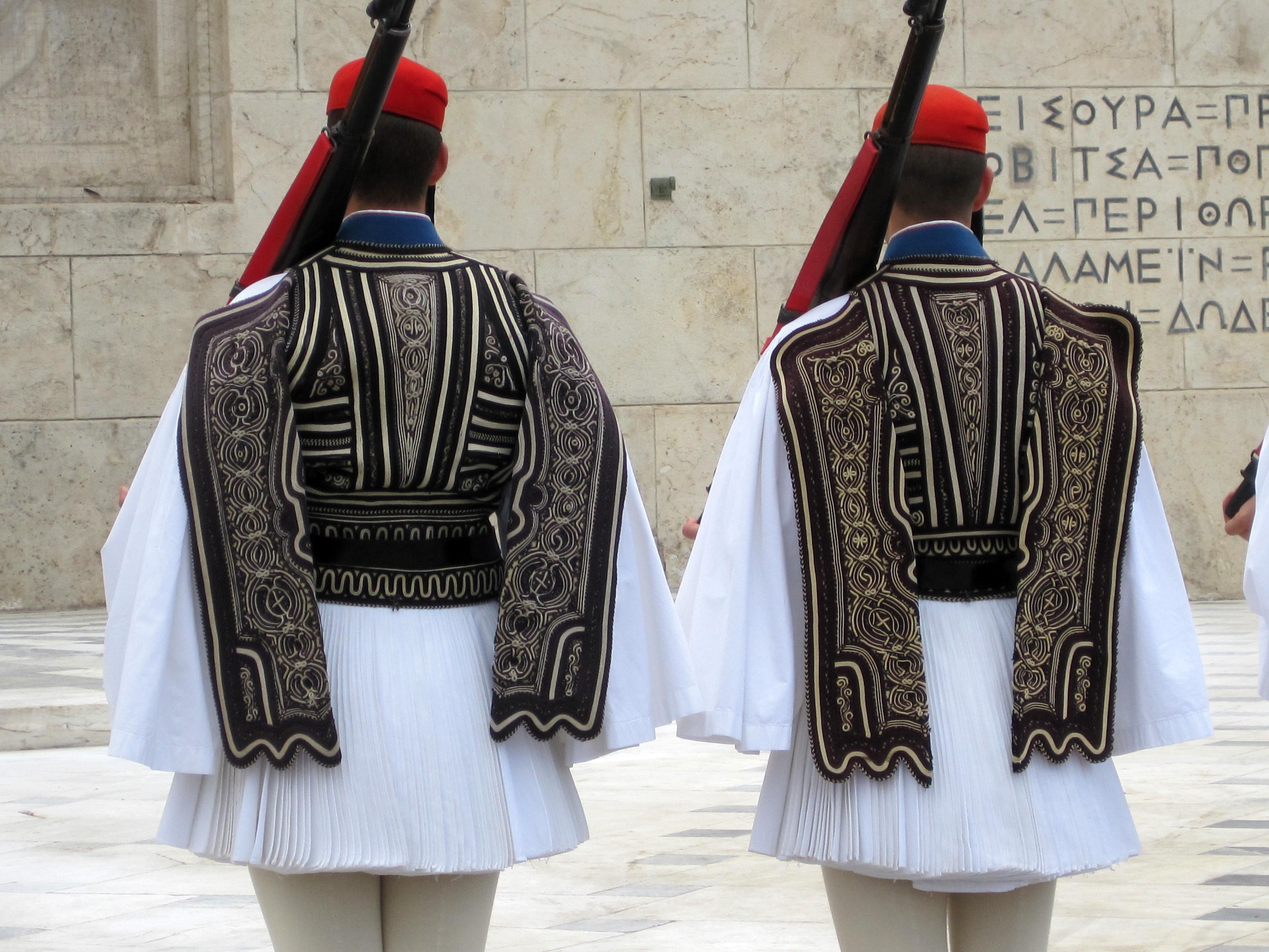 Greek soldier uniform