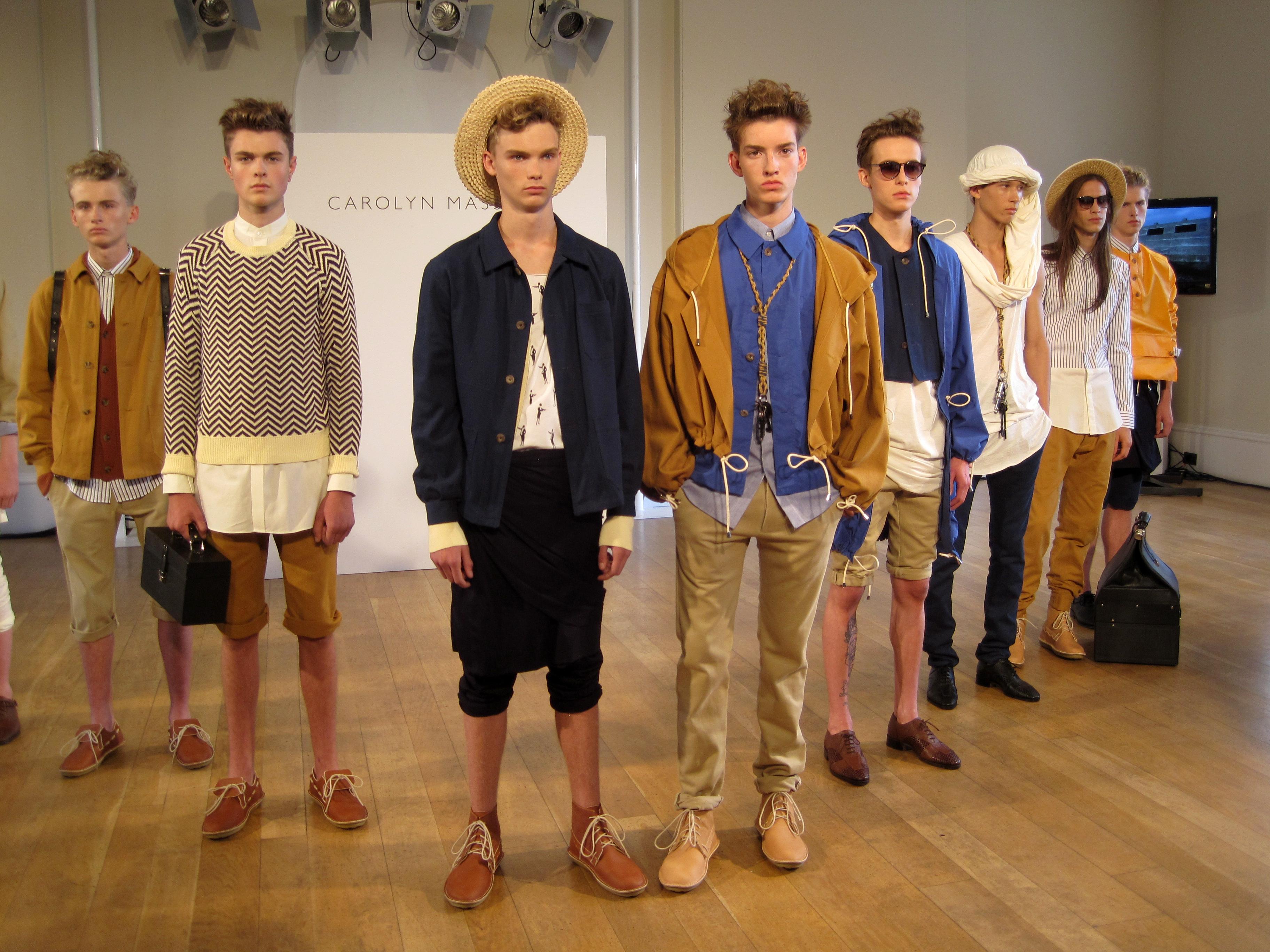 London Fashion Week Mens Day Carolyn Massey Presentation Anne