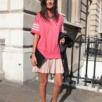 Sporty Chic...Somerset House, London