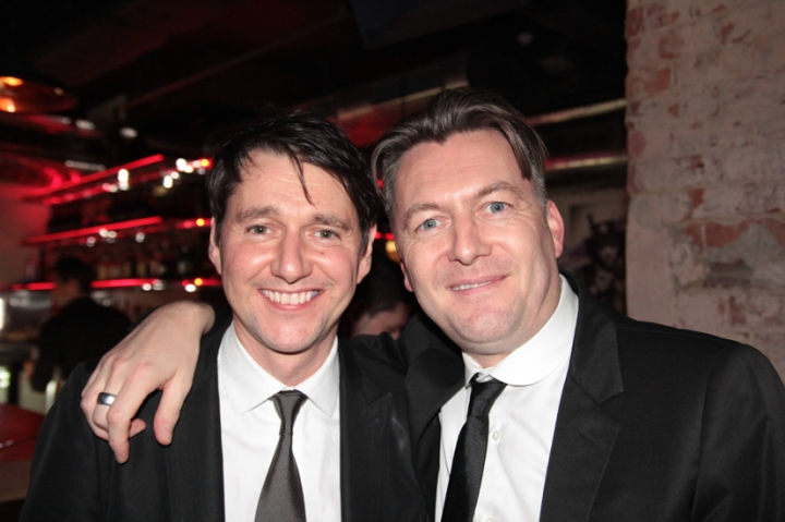 Gareth and Markus Lupfet
