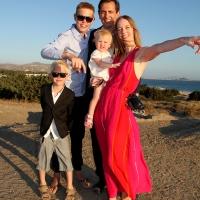 The Family…Agia Anna, Naxos