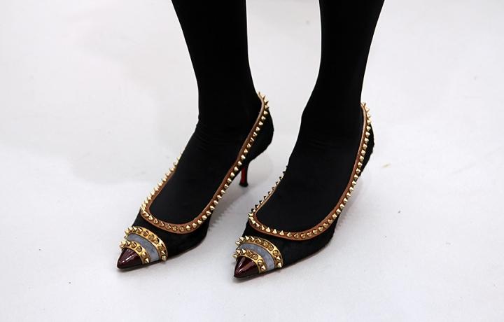 IMG_8637 studded Christian Louboutin heels