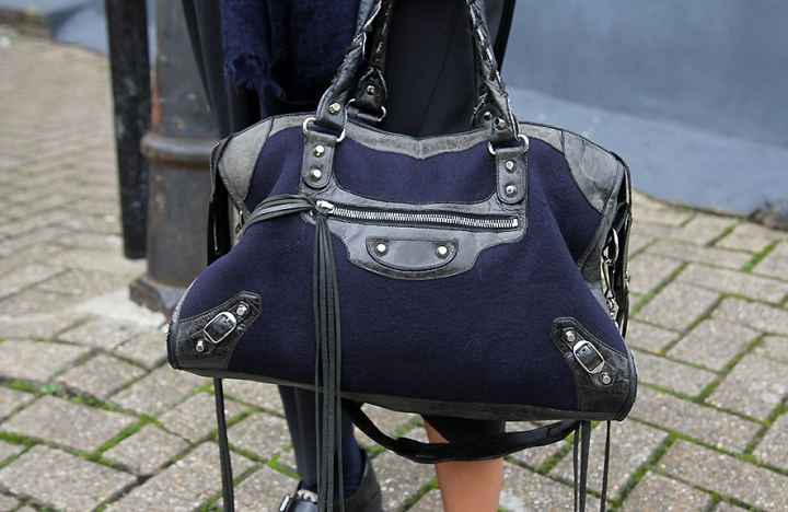 IMG_8826 Black and Navy Balenciaga bag s