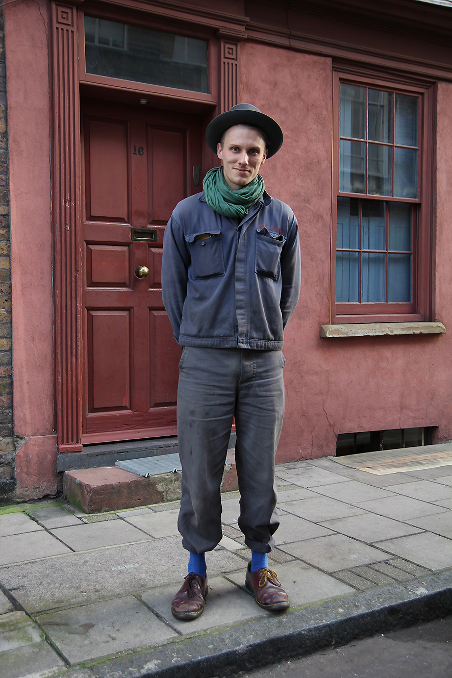 Vintage Workwear…Wilkes Street, London