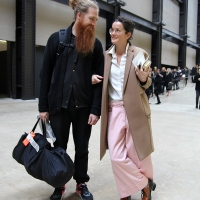 The Couple...Tate Modern, London Fashion Week