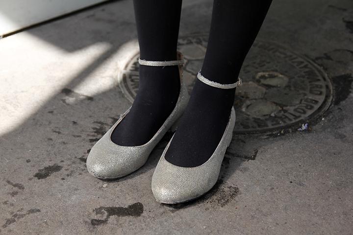 IMG_3403 metallic leather ballerinass