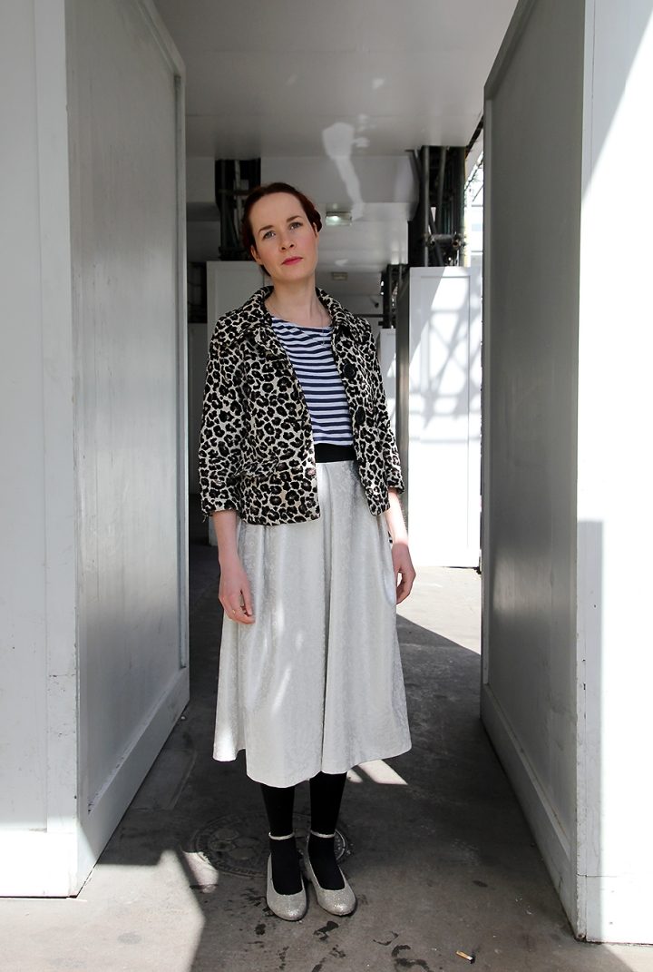 IMG_3408 Victoria in Breton T-shirt and leopard jacquard jacket