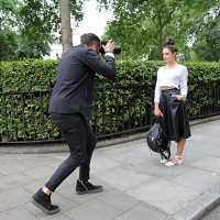 Adam Katz Sinding At Work...Bloomsbury Square, London