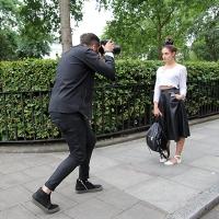 Adam Katz Sinding At Work...Bloomsbury Square, London