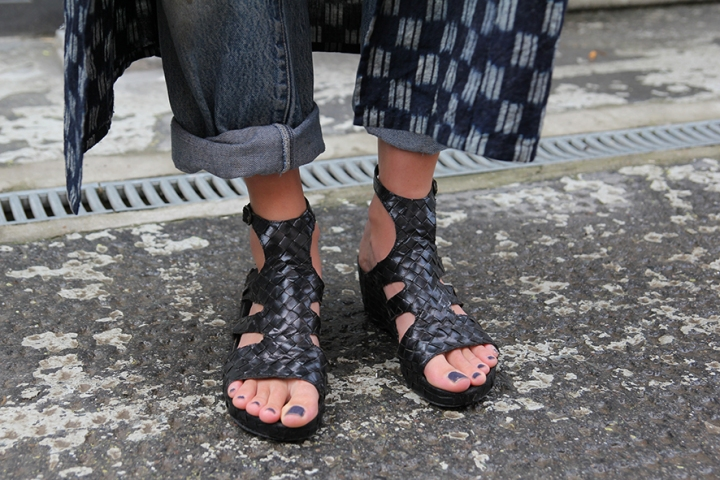 IMG_5569 Black woven sandals