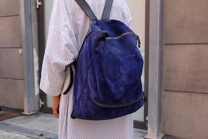 IMG_5601 Blue suede bagpack s