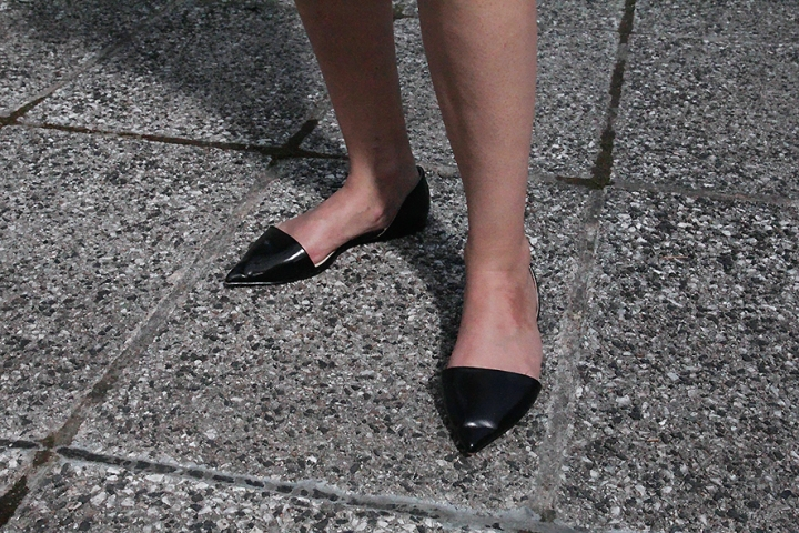 IMG_6950 Black pointed flat shoess