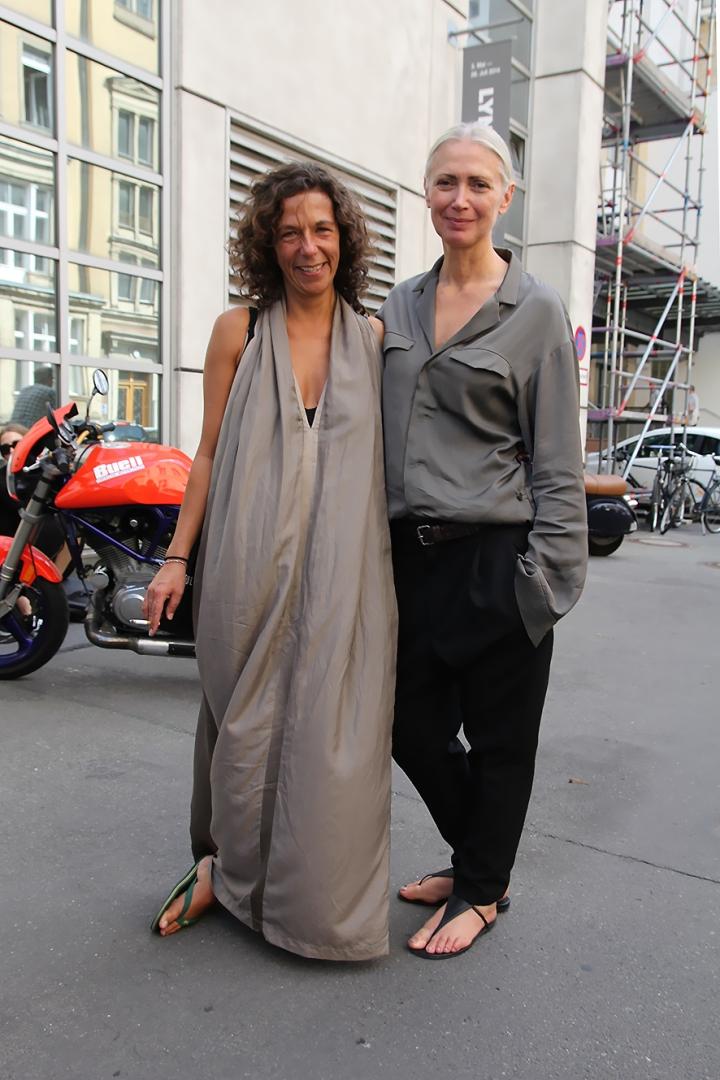 IMG_6547 Kathleen König and Christiane Arp s