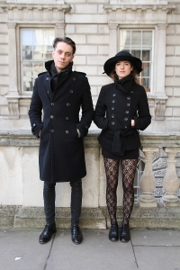 Paolo and Eleonora, London Fashion Week