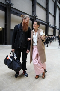 Duffy and Lucy Chadwick, London Fashion Week
