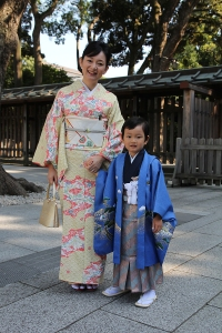 Wedding Guests at Meiji Shrine, Tokyo