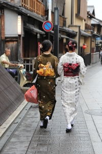 Geisha's in Gian, Kyoto