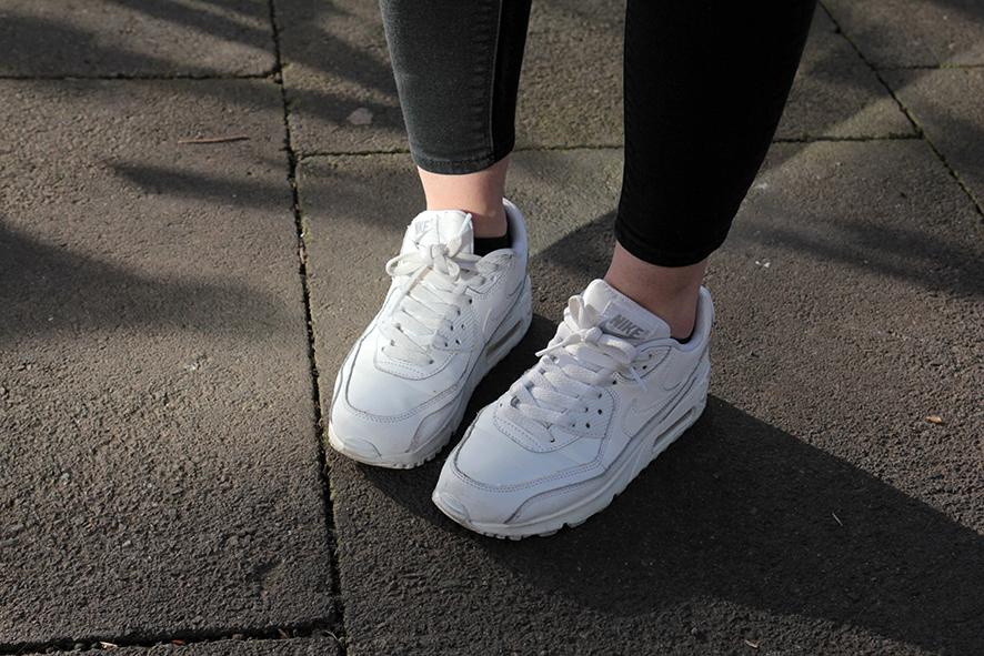Nike Air Max 90 Womens White Tumblr
