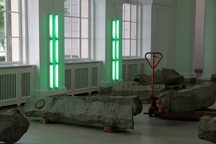 IMG_4486 Joseph Beuys and Dan Flavin at Hamburger Bahnhof 2s