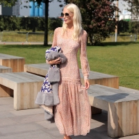 Poppy Delevingne...Lewis Cubitt Square, London