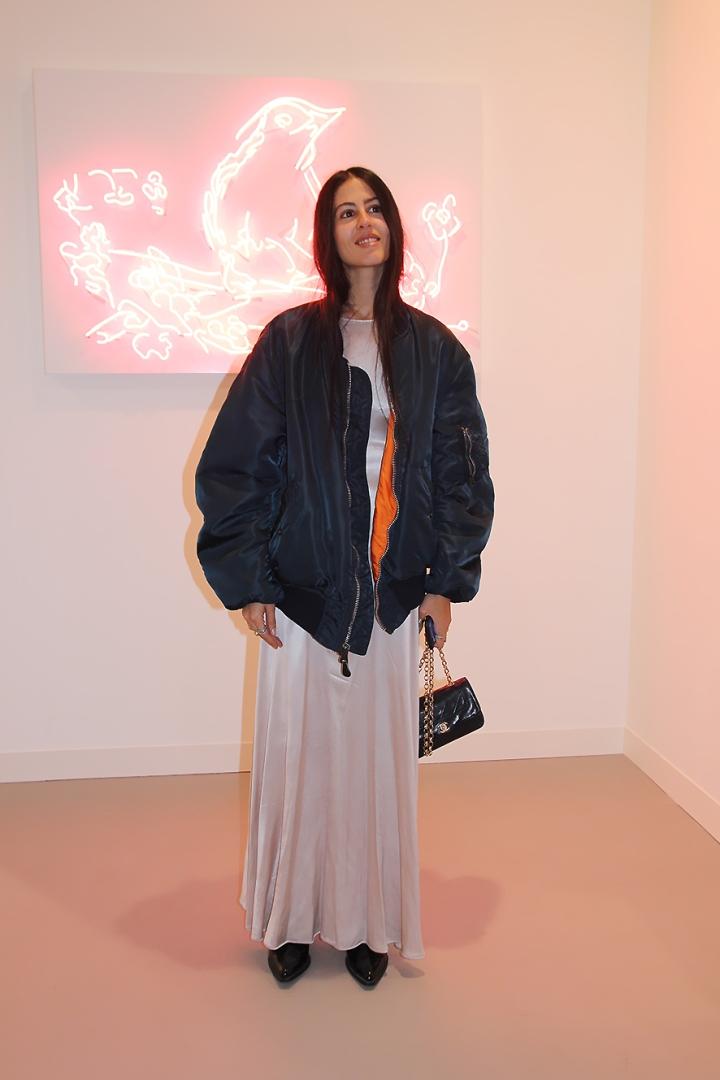IMG_82802as Gilda Ambrosio at Frieze Art Fair Opening © Anne Bernecker