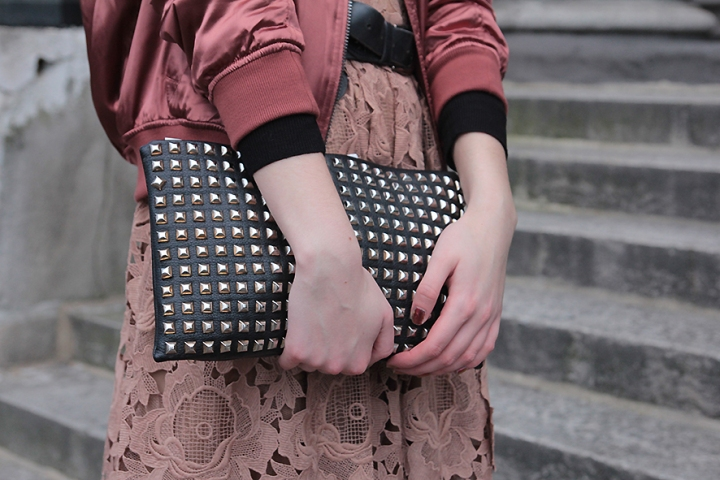 IMG_9919s Black studded leather clutch