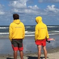 Rettungsschwimmer...Strand, Juist