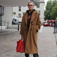 Sweet Camel Coat...Westminster, London