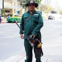 City Gardener…Langsuan Lumphini, Bangkok